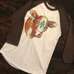 Tops - Super cute western graphic tee!